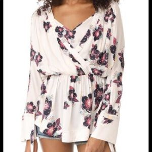 Free People Tuscan Floral Dreams Tunic